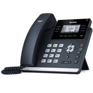 yealink-sip-t42s-gigabit-ip-phone-side